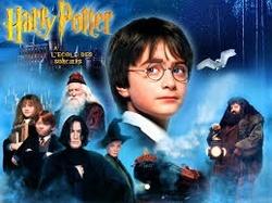 Harry Potter 1: à l'école des sorciers.