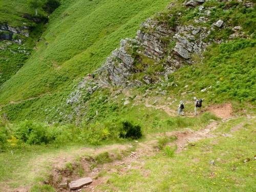 Début de la descente vers Bidarray