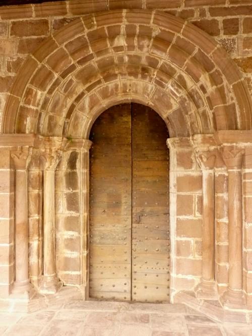 Porte de l'église de Bidarray