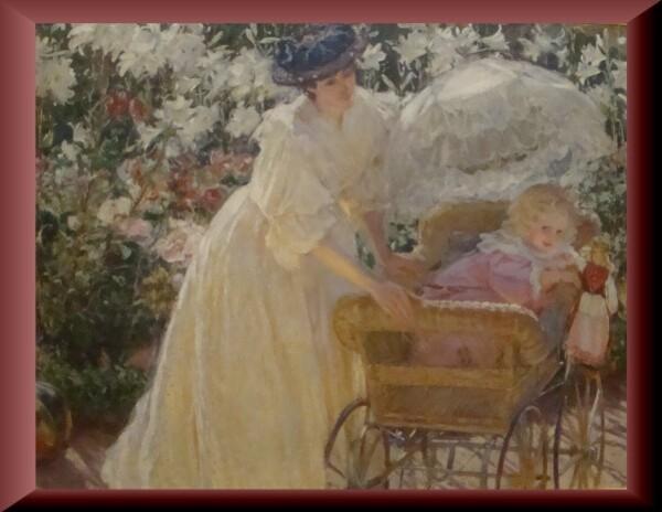 Mary Fairchild Mac Monnies, Rose et Lys (1897)