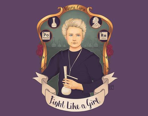 Marie Curie-Kaol Porfirio