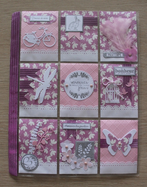 Pocket Letter Rose Girly