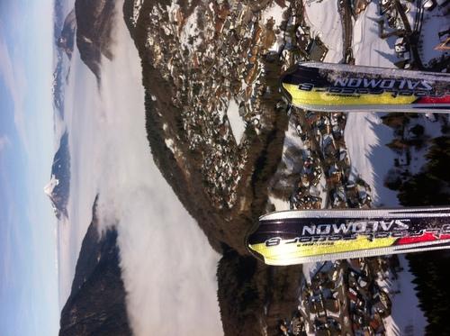 Vols et ski ... génial !
