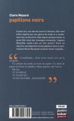 Chronique du livre {Papillons noirs}