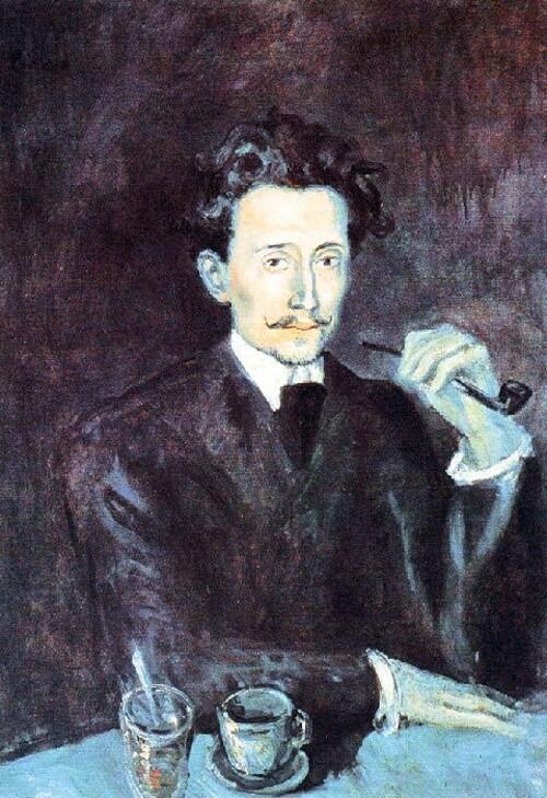 Picasso /15/ la période bleue (9)-   pauvres pierreuses (2)
