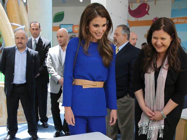 Rania au musée des enfants