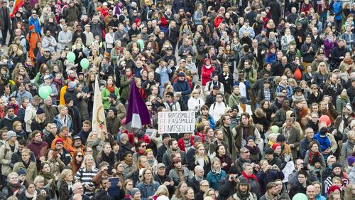 15,000 march in Helsinki anti-racism protest.