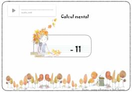 calcul mental interactif : soustraire 11
