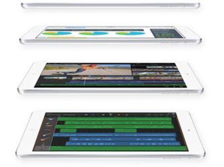 iPad Air et iPad mini avec écran Retina: comment se comparent-ils aux autres appareils?