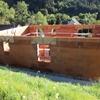 elévation des murs en briques 018