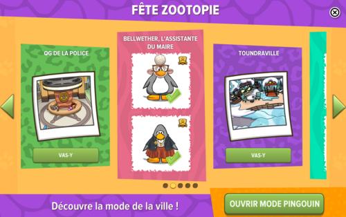 Guide de la fête Zootopie