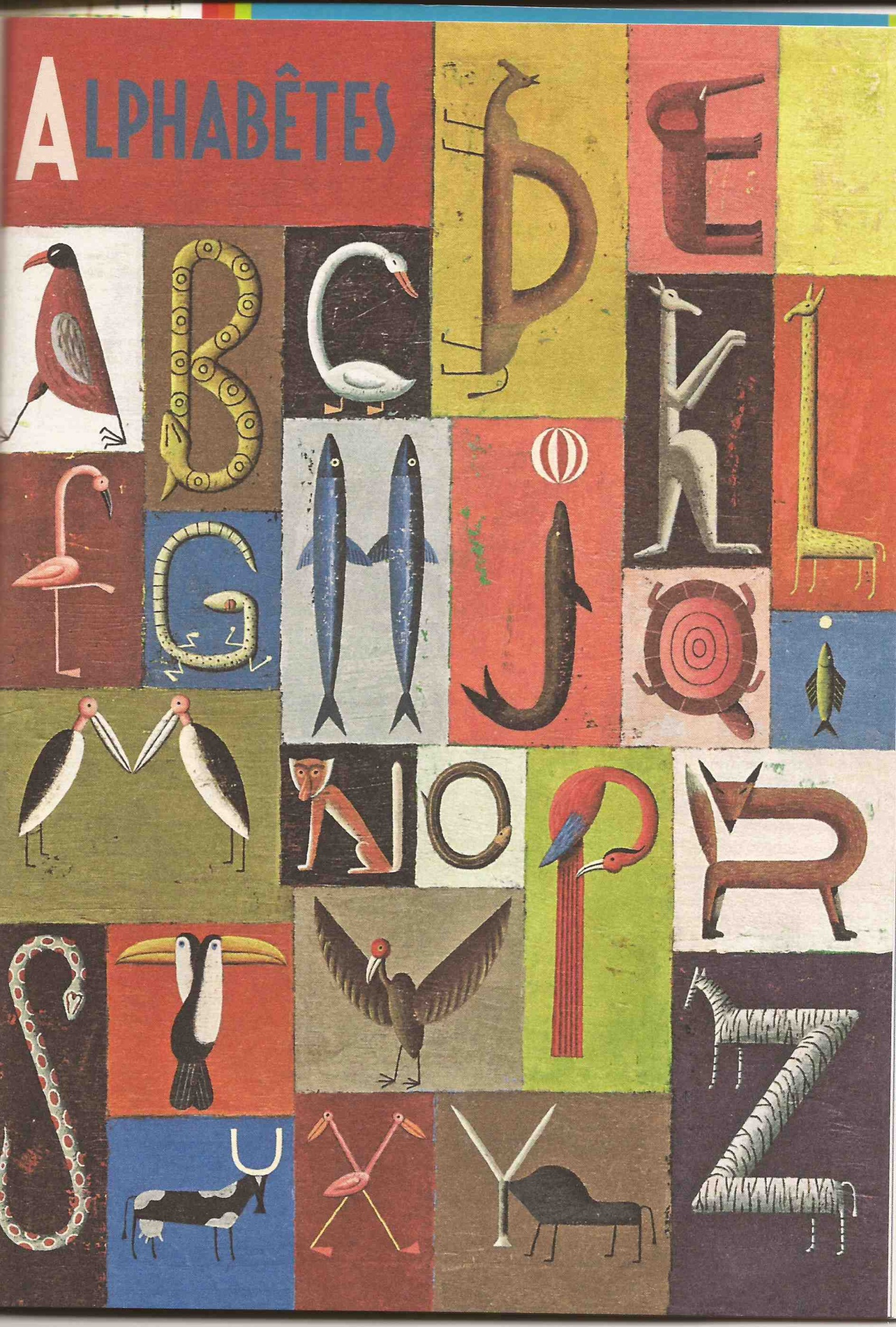 belle écriture alphabet