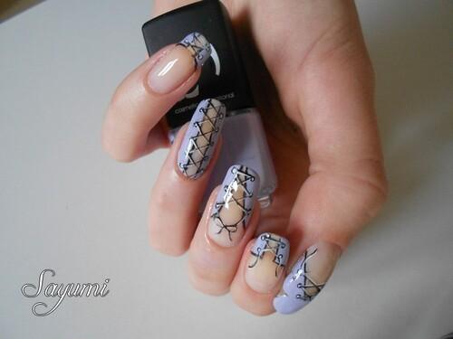 Nail Art Corsets variés