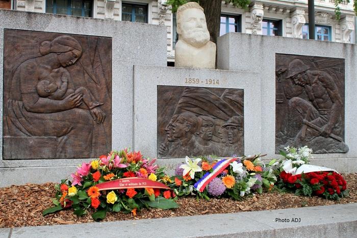 Hommage à Jean Jaurès et le monde d'aujourd'hui
