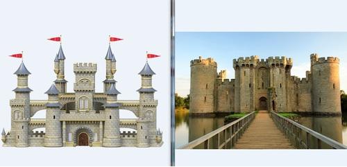 dessiner un château