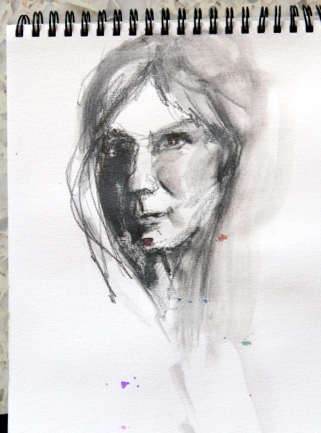 portraits ....dessin évasion