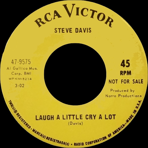 "Steve Davis : Album "" Music "" RCA Victor Records LSP 4423 [ US ]"