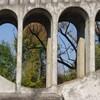 arcades du pont siphon sur Yonne