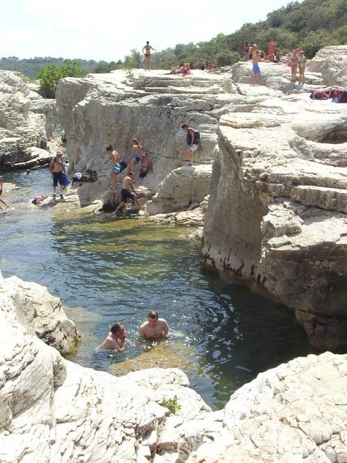 paysage du Gard