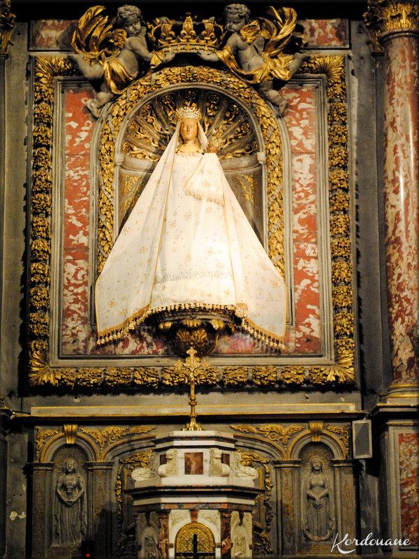 Photo du chœur de Notre Dame de Verdelais