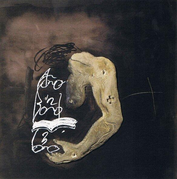 l'oeil & la plume...  Antoni Tàpies