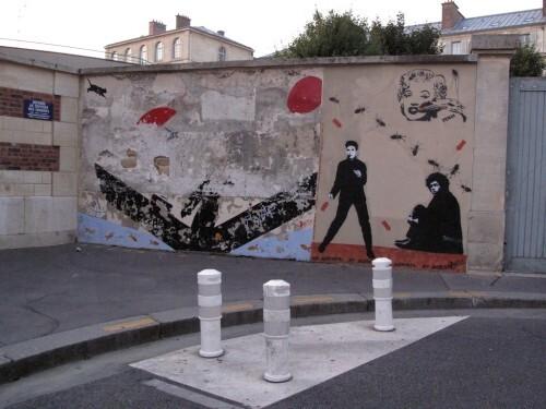 Pimax Street-art Jeff Mesnager Speedy Graffito Nemo