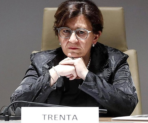 La ministre italienne de la Défense, Elisabetta Trenta