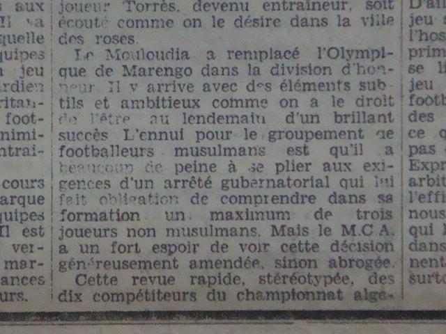 MCA 1936/1937