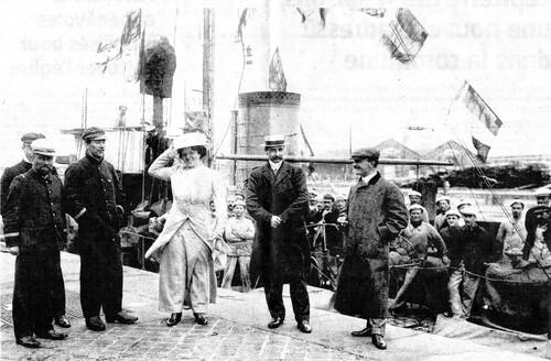 Le retour de Louis Blériot après sa traversée de la Manche
