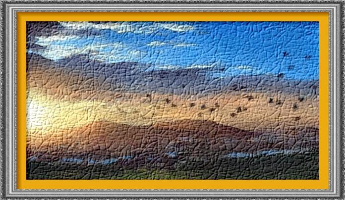 Dessin et peinture video 2197 comment peindre un - Dessin coucher de soleil ...