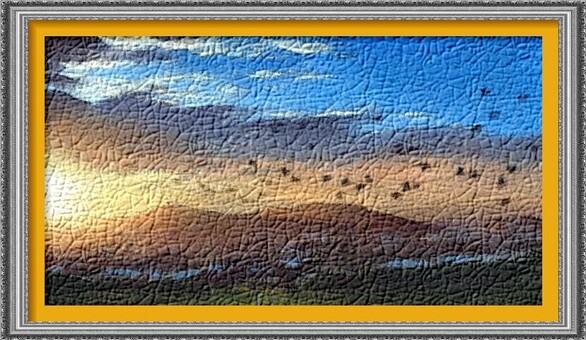 Dessin et peinture 2197 : Comment peindre un coucher de soleil avec des pastels