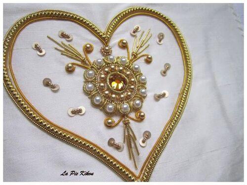 Zardosi coeur