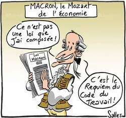 Les propos choquants d' Emmanuel Macron