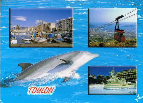 Mamie Solange est partie à Toulon