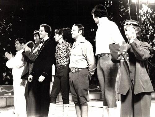 Jacky et Philippe GRUSS au cirque Pinder Jean Richard en 1978