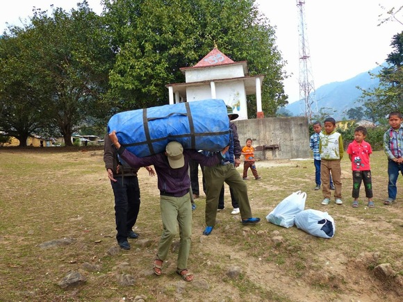 après le safari, le rafting