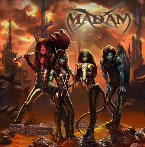 """MADAM X - """"Bride Of Frankenstein"""" (Clip)"""