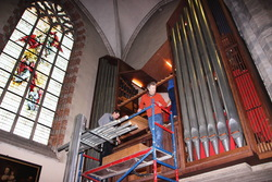 Het orgel van de Sint-Niklaaskerk van Edingen : van oud naar nieuw