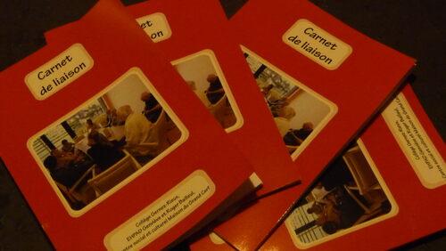 29 novembre, 16h : Carnet de liaison présenté salle des fêtes de Ronchin