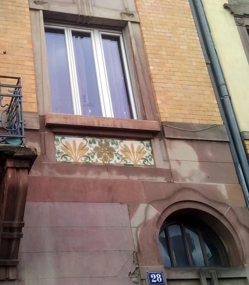 Mon quartier rue de la Broque, Caponnière, jardin - 12/11/2012