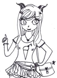Croissance de mes personnages (Lily, Marina, et leur cousine)