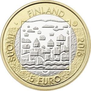 FINLANDE PIECE DE 5.00 € SERIE LES PRESIDENTS FINLANDAIS