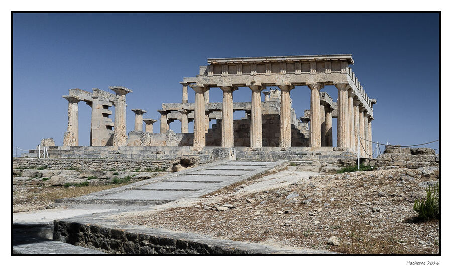Egine : Temple d'Aphaïa
