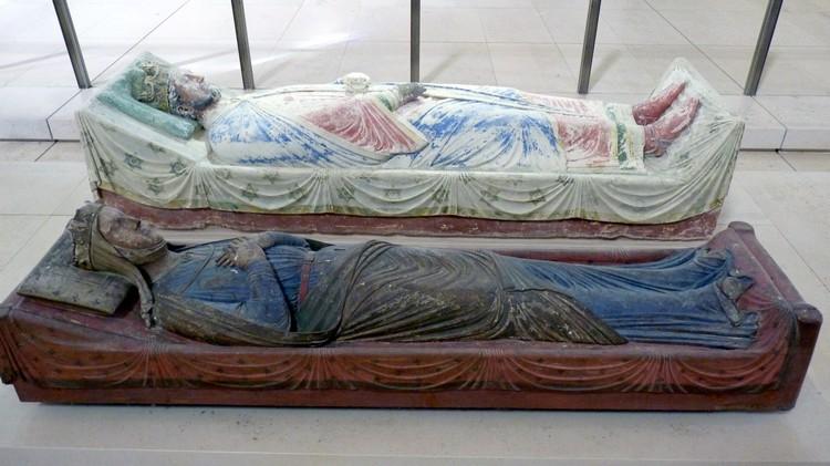 Gisants de Richard Cœur de Lion et d'Isabelle d'Angoulême