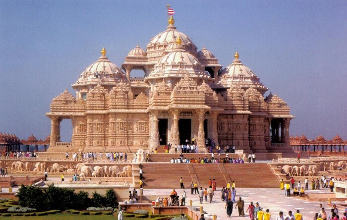 TEMPLO DE AKSHARDHAM  (INDIA)