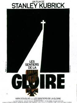 Affiche du film Les Sentiers de la Gloire de S. Kubrick