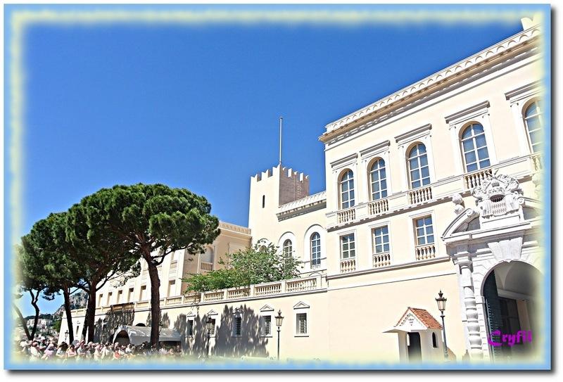 Monaco, le palais