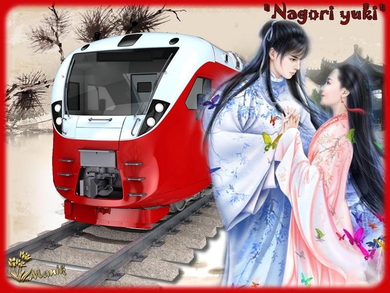 """""""Nagori yuki""""  défi pour Marjolaine ,"""