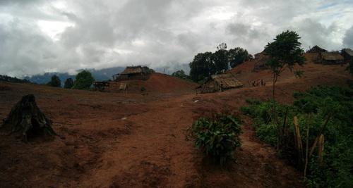 Laos: un village Lao
