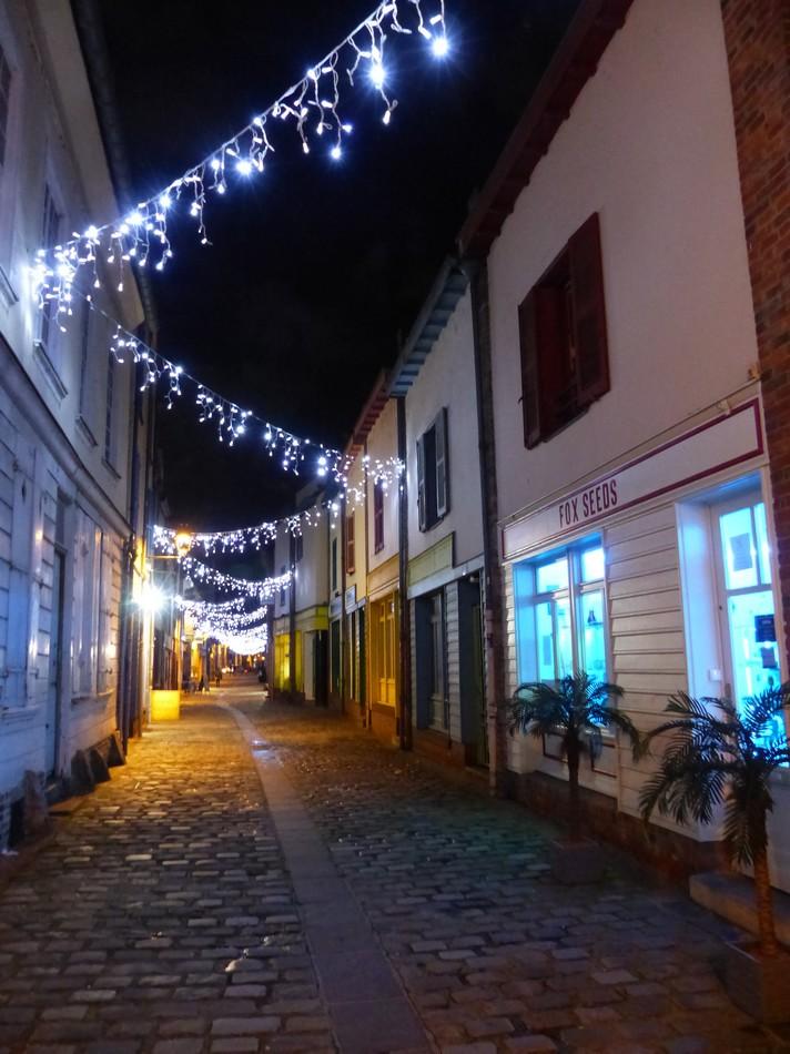 Amiens dans la nuit